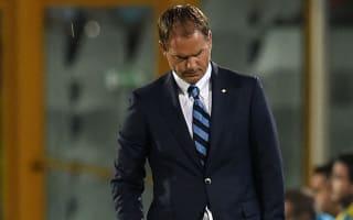 BREAKING NEWS: De Boer sacked by Inter