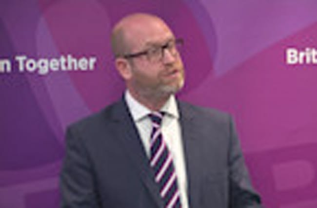 Nuttall says UKIP has six Brexit tests