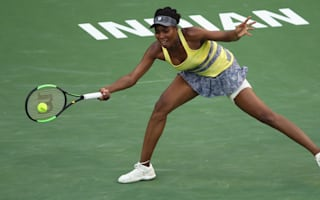 Venus beaten by Vesnina, Mladenovic into semis