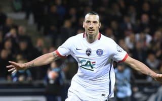 Lorient 0 Paris Saint-Germain 1: Ibrahimovic fires PSG into final