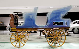 The world's very first Porsche to go on display in Germany