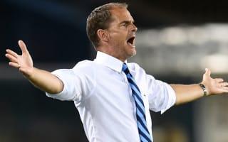 Agent: Former Inter boss De Boer needed time like Klopp
