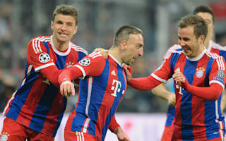 Bayern handed double boost as Ribery and Gotze return