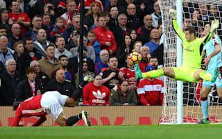 Manchester United 0 Burnley 0: Heroic Heaton denies Mourinho's 10 men