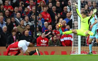Manchester United 0 Burnley 0: Heroic Heaton denies Mourinho's 10 men