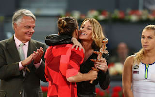 'I give myself a 9.5' - Halep thrilled with Comaneci support