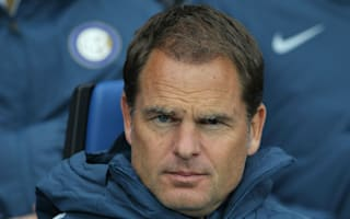 De Boer: Inter 'played with fear' in first half