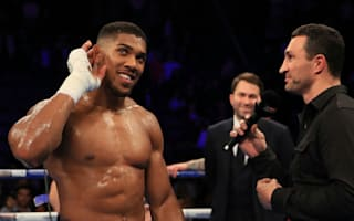 Joshua has game plan in place for Klitschko