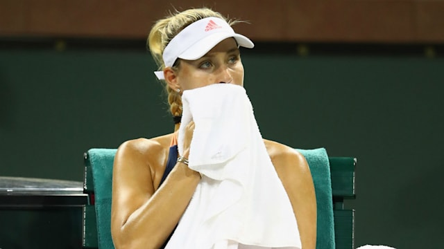 Seeded Angelique Kerber knocked out of French Open