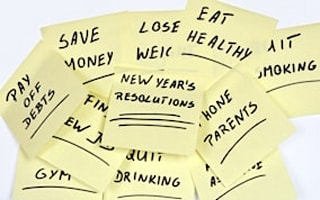 Five tricks to guarantee you keep your resolutions