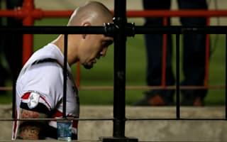 Maicon pleads for forgiveness after seeing red in Libertadores semi-final defeat