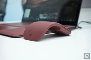 Microsoft Surface Arc Mouse, un vistazo de cerca