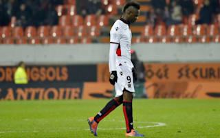 Favre not blaming Balotelli for latest red card