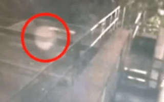 Scary video shows 'ghost' floating through Liverpool pub