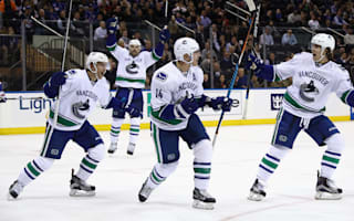 Canucks snap streak, Penguins beat Oilers