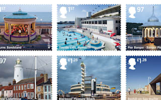10 new stamps mark seaside architecture