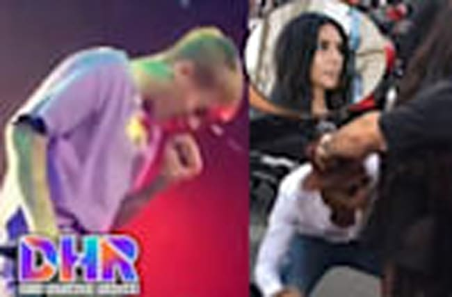 Justin Bieber Donates DNA To Beliebers - Kim Kardashian ATTACKED By Butt Kisser