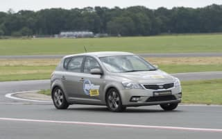 AOL Cars drives the Top Gear test track