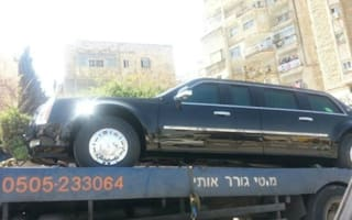 President's armoured limo taken out - by a tank full of diesel