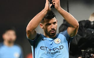 Aguero happy to fight for City place, says agent