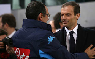 Allegri defends Sarri after De Laurentiis rant