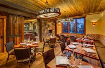 Rustic Lounge at Cedar Glen Lodge