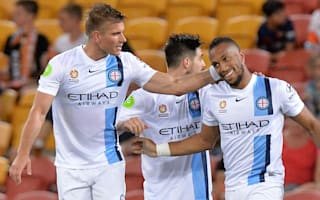 Brisbane Roar 1 Melbourne City 1: Henrique spares Young's blushes as Roar go top