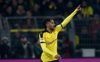 Dortmund deny Aubameyang is Manchester City bound