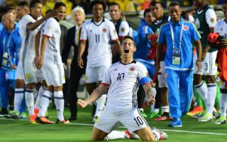 Colombia 2 Paraguay 1: James books quarter-finals spot