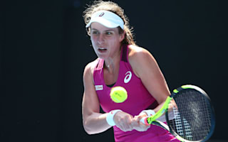 Konta, Wickmayer prevail in tough first-round matches