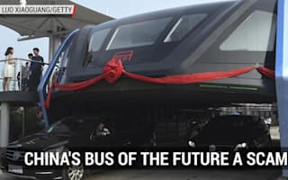 Controversy over China's bus of the future project
