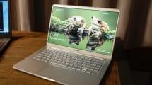 El nuevo NoteBook 9 de Samsung tiene 15 pulgadas y pesa sólo 980 gramos