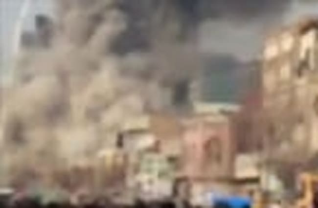 Firefighters trapped in Iran building collapse