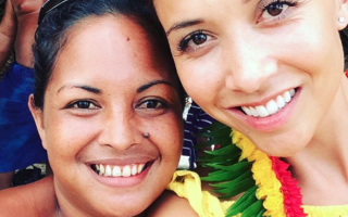 Myleene Klass finds live crab in luggage after Philippines trip