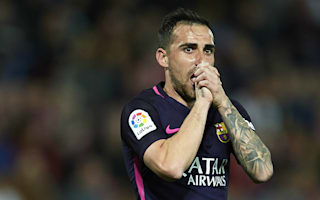 Alcacer happy with Barcelona role
