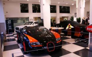Record-breaking Bugatti goes on sale in London
