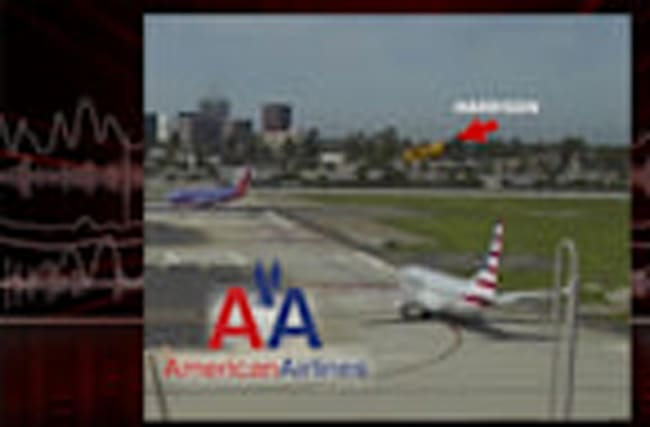 Harrison Ford Landing and Talking to American Airlines