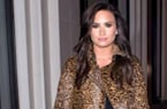 Demi Lovato Goes Back to Her Brunette Roots After Being Blonde for Less Than a Week