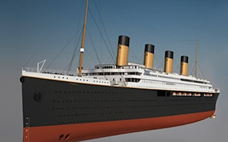 Would you book a trip on Titanic II?
