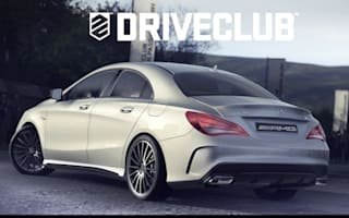 Mercedes CLA 45 AMG unveiled in videogame screenshot