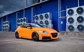 Honda showcases new Japanese CR-Z Mugen RR