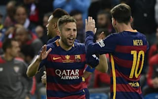 Barcelona 2 Sevilla 0 (AET): Alba and Neymar decide heated Copa del Rey final