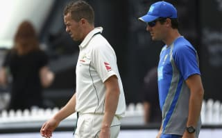 Siddle out of second Test