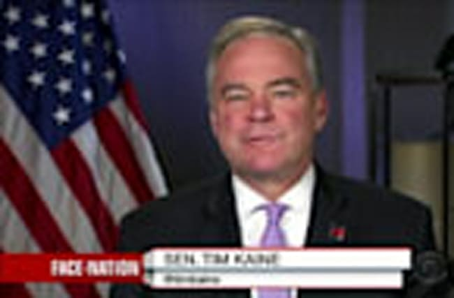 Debate gives candidates chance to lay out specifics -Kaine
