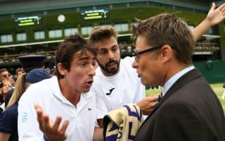 Cuevas, Granollers fined over Wimbledon toilet tantrum