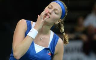 Kvitova withdraws from Sydney International due to illness