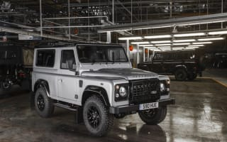 Two-millionth Land Rover Defender celebrated with special edition