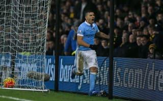 Watford 1 Manchester City 2: Toure and Aguero break Watford hearts