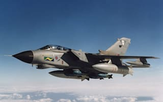 Why were low-flying jets over Leicestershire last night?