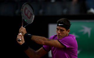Dimitrov slump goes on as Del Potro reigns in Rome